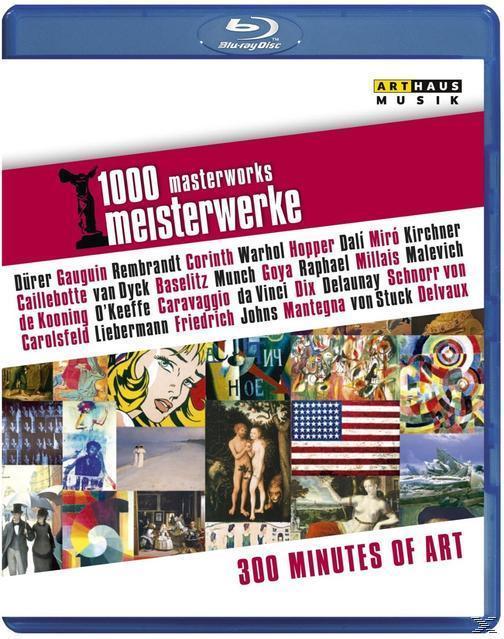 Image of 1000 Meisterwerke: 300 Minutes of Art
