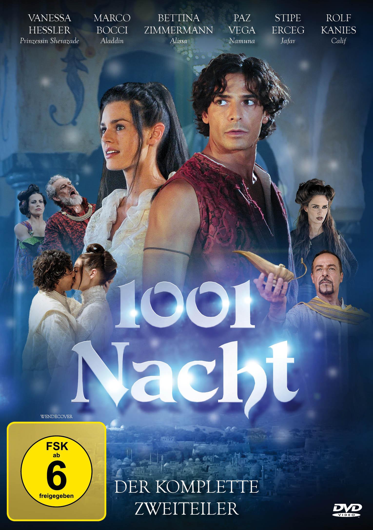 Image of 1001 Nacht - Der komplette Zweiteiler aus Tausendundeiner Nacht