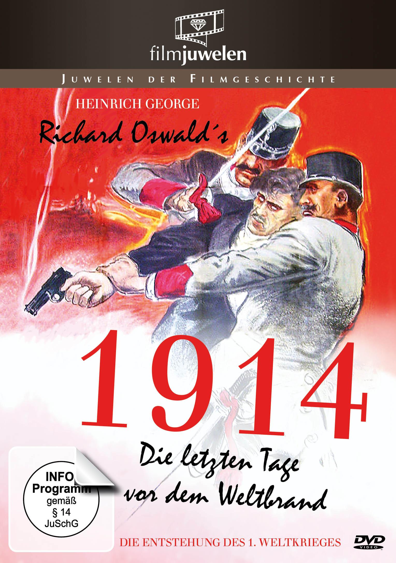 Image of 1914 - Die letzten Tage vor dem Weltbrand