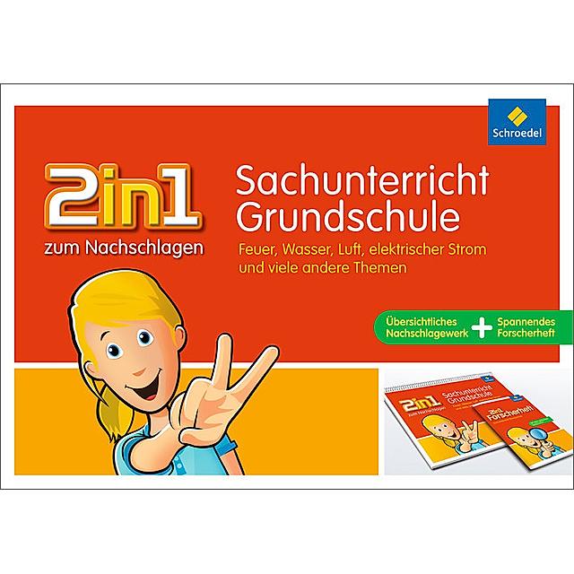 2in1 Zum Nachschlagen Grundschule Sachunterricht Grundschule Buch