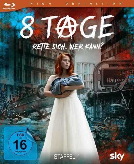 Image of 8 Tage - Rette sich. Wer kann? - Staffel 1 BLU-RAY Box