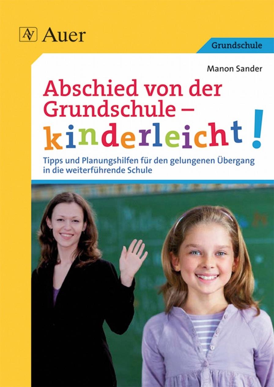 Abschied von der Grundschule   kinderleicht