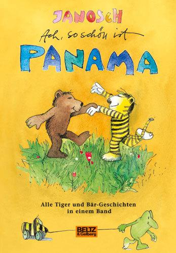 Wandtattoo Janosch Tiger Und Bar Auf Nach Panama