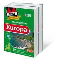 ACSI Internationaler Campingführer Europa 2020, 2 Bde