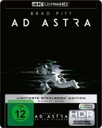 Image of Ad Astra 4K, 1 UHD-Blu-ray + 1 Blu-ray