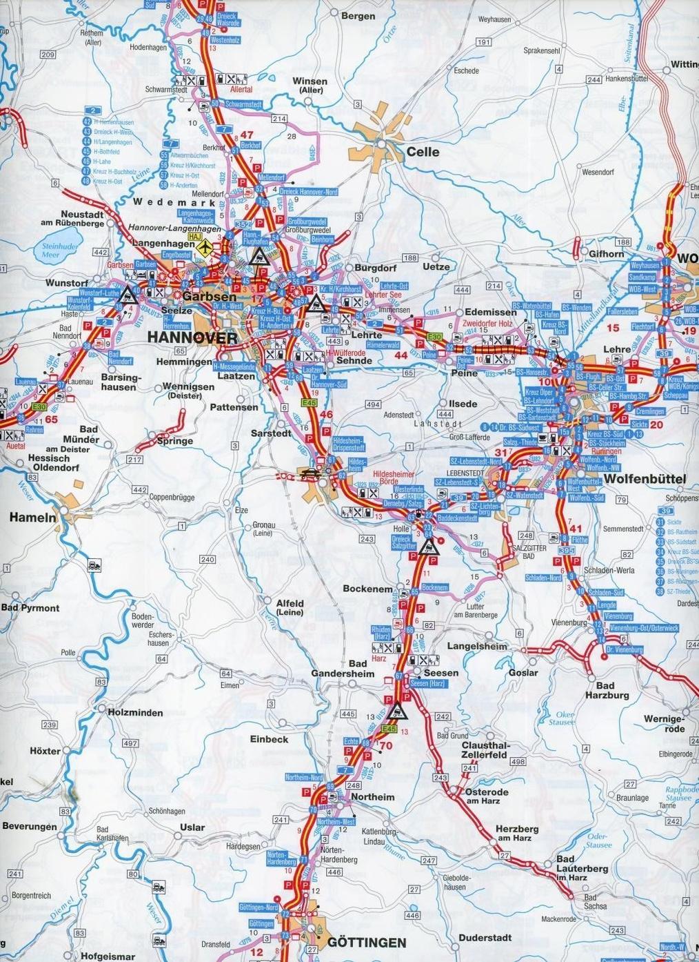 Deutschland Karte Mit Autobahnen لم يسبق له مثيل الصور Tier3 Xyz
