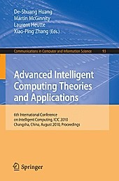 Advanced Intelligent Computing. Theories and Applications.  - Buch