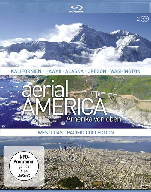 Image of Aerial America - Amerika von oben: Westcoast Pacific Collection - 2 Disc Bluray