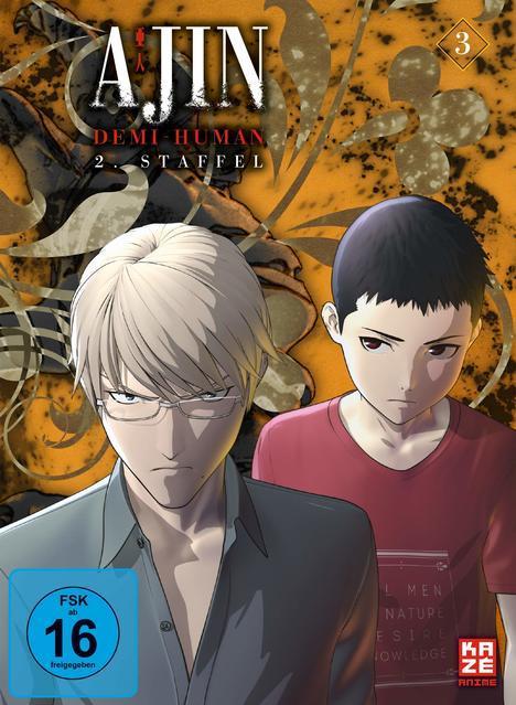 Image of Ajin: Demi-Human - 2. Staffel - Vol. 1 - Ep. 14-20