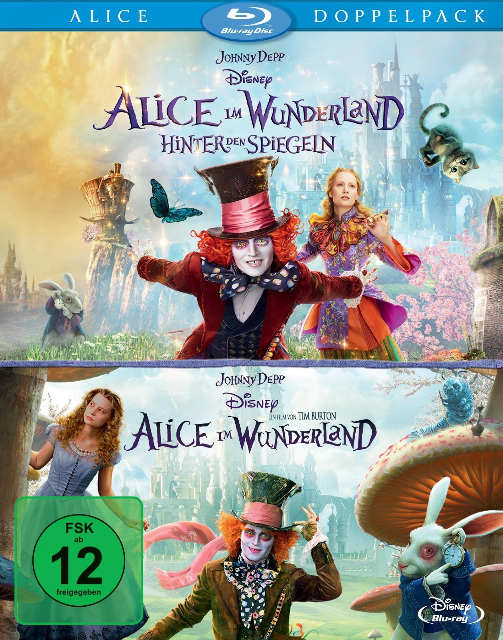 Image of Alice im Wunderland + Alice im Wunderland 2: Hinter den Spiegeln