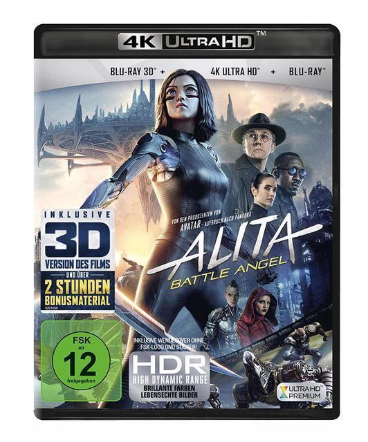Image of Alita - Battle Angel (4K Ultra HD)