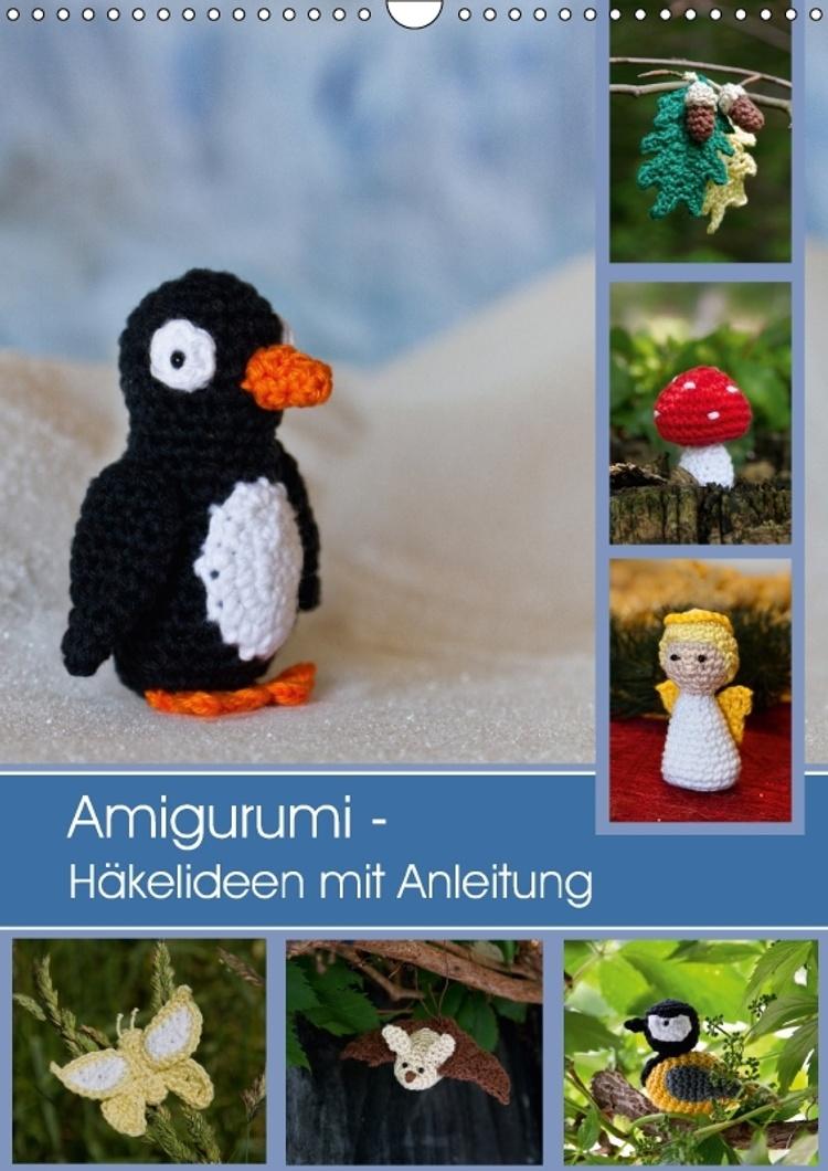 Amigurumi - Häkelideen mit Anleitung Wandkalender 2019 DIN A3 hoch ... | 1060x750