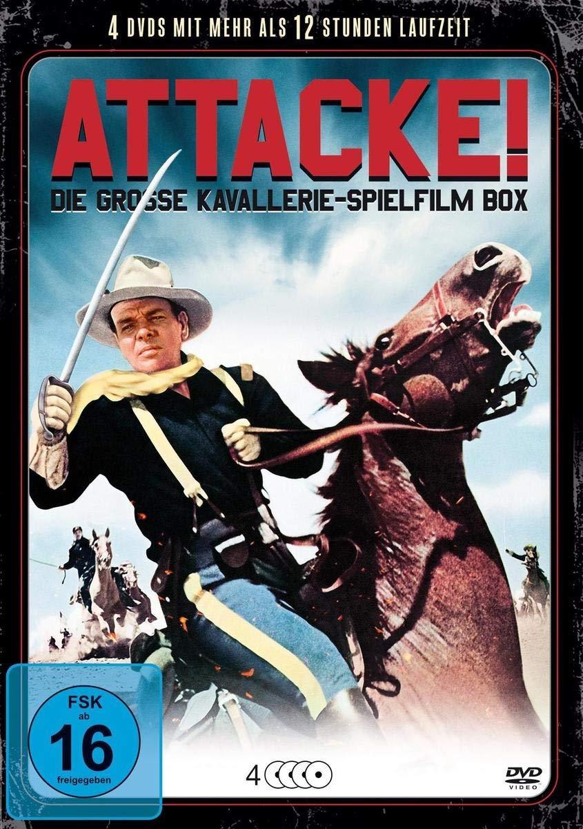 Image of Attacke! - Die grosse Kavallerie-Spielfilm Box