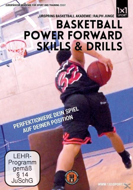 Image of Basketball Power Forward Skills & Drills