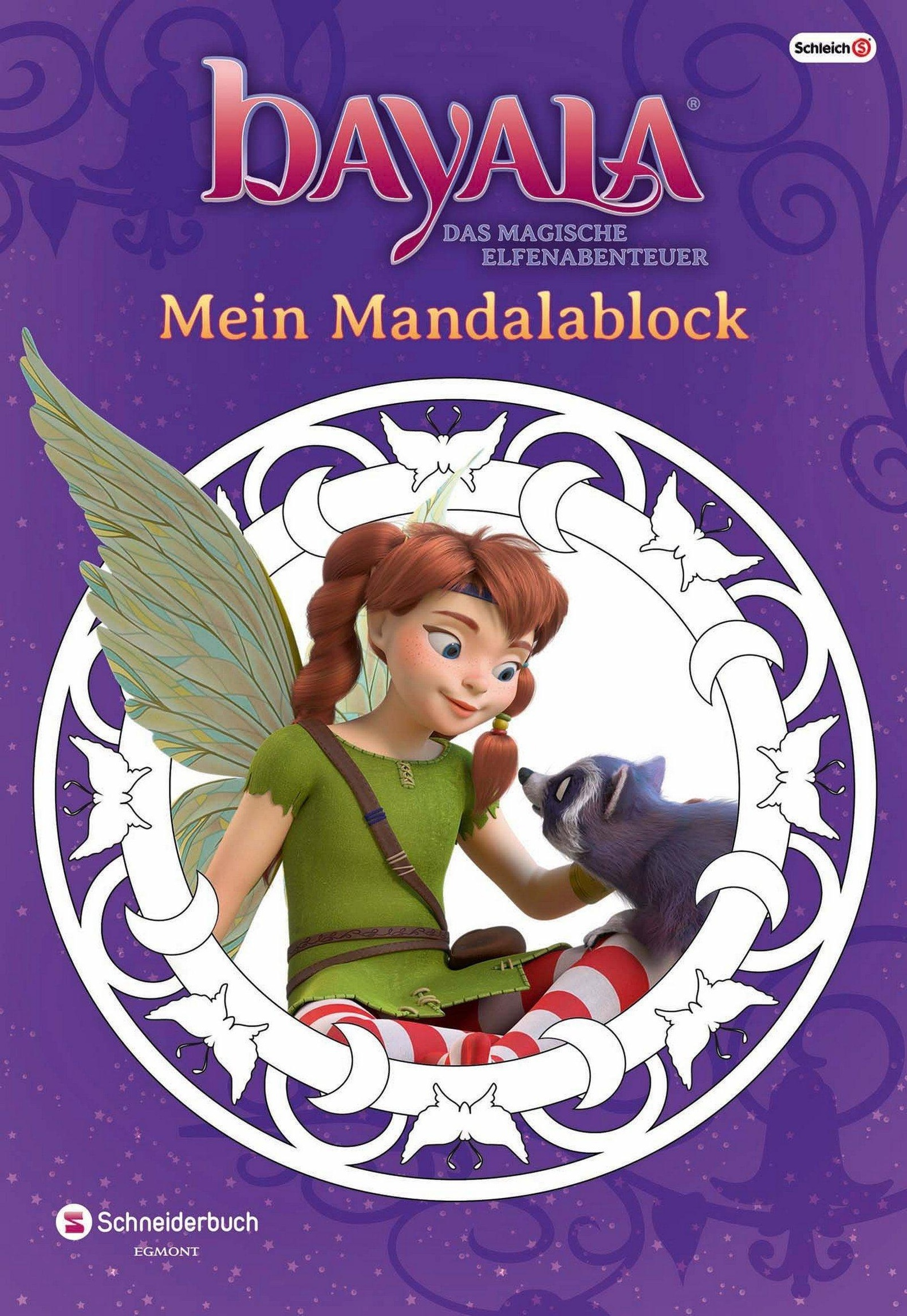 bayala - Mein Mandalablock Buch versandkostenfrei bei Weltbild.de