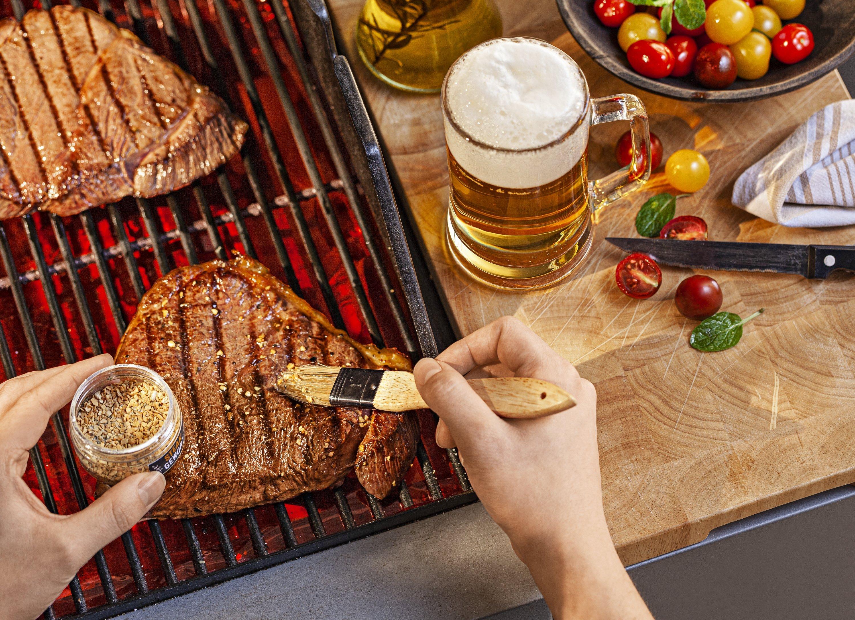 Schürze  Kochschürze BBQ grillen Bester OPA der Welt