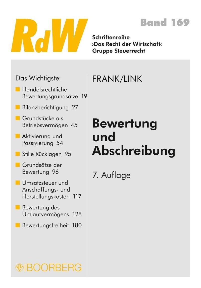 Bewertung und Abschreibung Buch versandkostenfrei bei Weltbild.de
