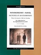 Bilder einer Ausstellung, Studienpartitur.  - Buch