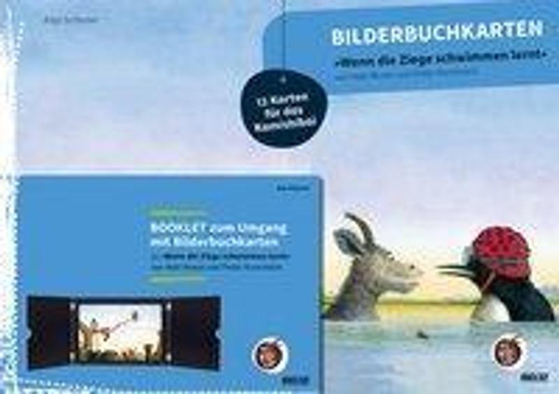 Bilderbuchkarten Wenn Die Ziege Schwimmen Lernt Von Neele Moost Und Pieter Kunstreich Buch