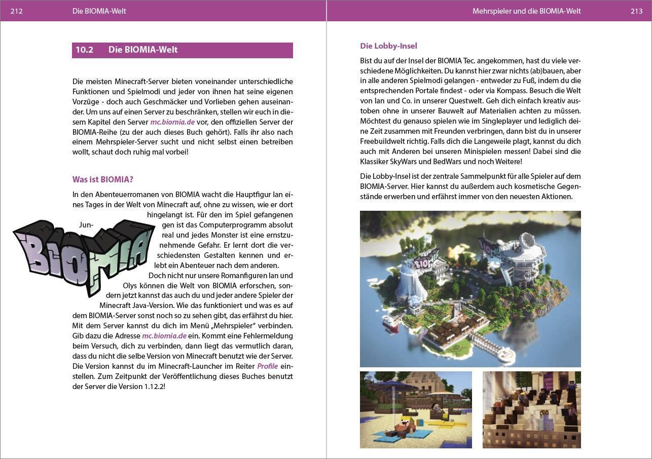 Biomia Dein inoffizieller Minecraft Guide