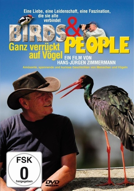 Image of Birds & People - Ganz verrückt auf Vögel, 1 DVD