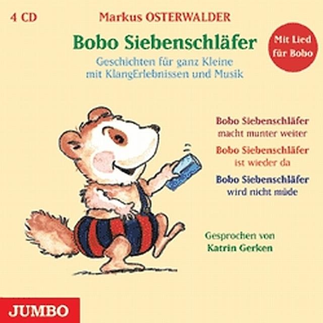 bobo siebenschläfergesamtausgabe 4 audiocds hörbuch