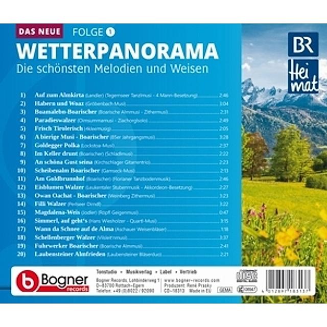 Br Heimat Das Neue Wetterpanorama 1 Von Br Heimat Diverse Interpreten Weltbild De