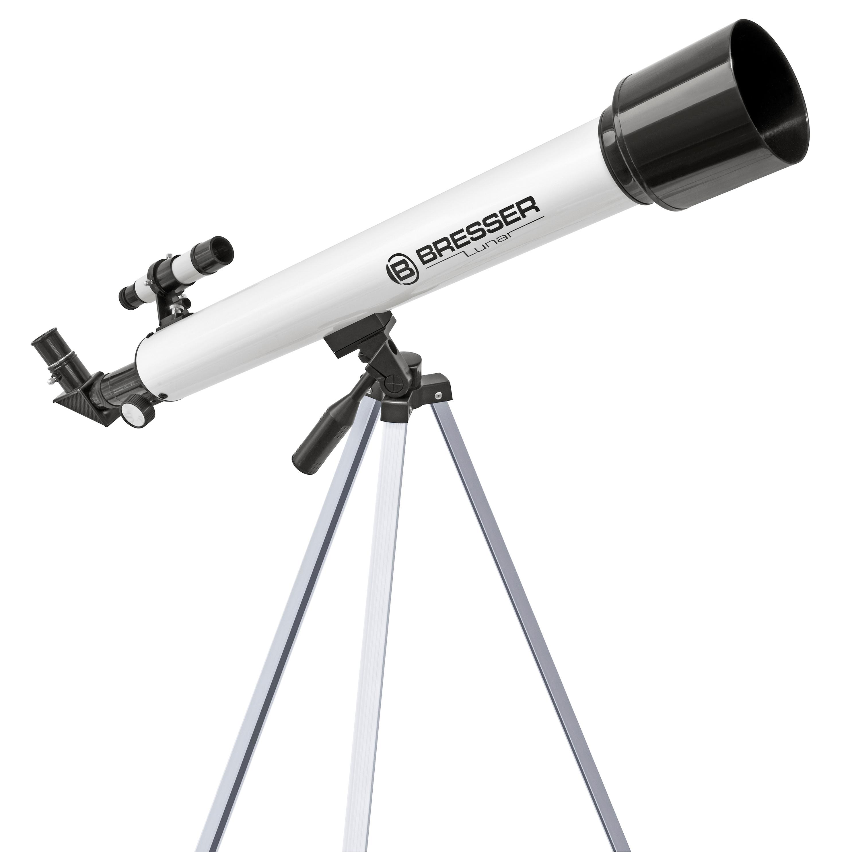 Bresser Lunar 60 700 Refraktor Teleskop Mit Stativ Weltbild De