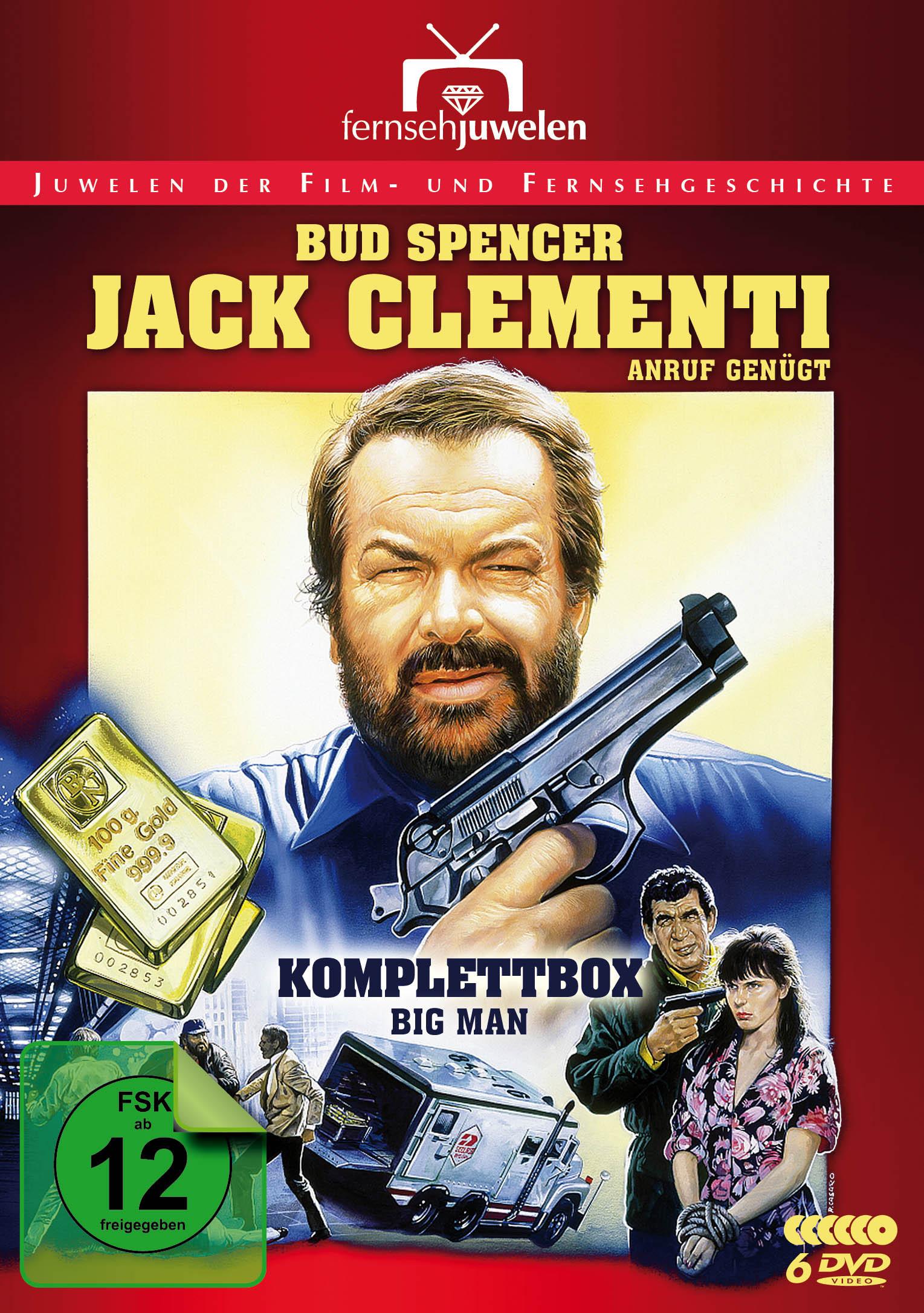 Bud Spencer: Jack Clementi, Anruf genügt Komplettbox