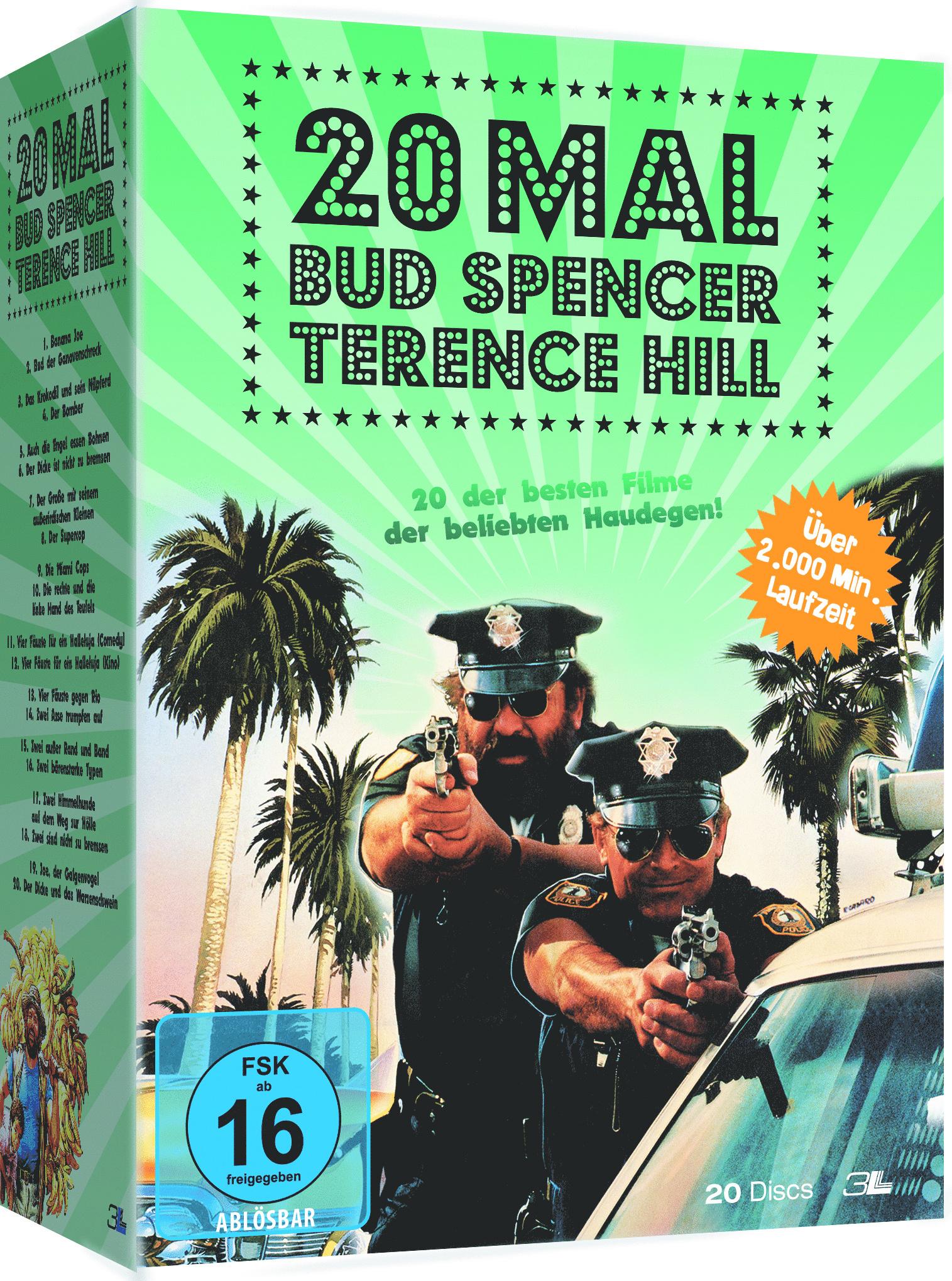 Image of Bud Spencer & Terence Hill 20er Box