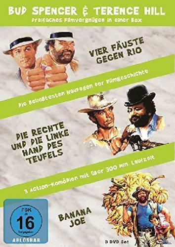 Image of Bud Spencer & Terence Hill - Vier Fäuste gegen Rio / Die rechte und die linke Hand des Teufels / Banana Joe DVD-Box