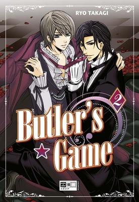 Butler's Game Bd.2 - wie immer in der gewohnt hohen Qualität der Game-Reihe und natürlich nur von Ryo Takagi! mit Schwarz-Wei�-Abbildungen�bersetzung
