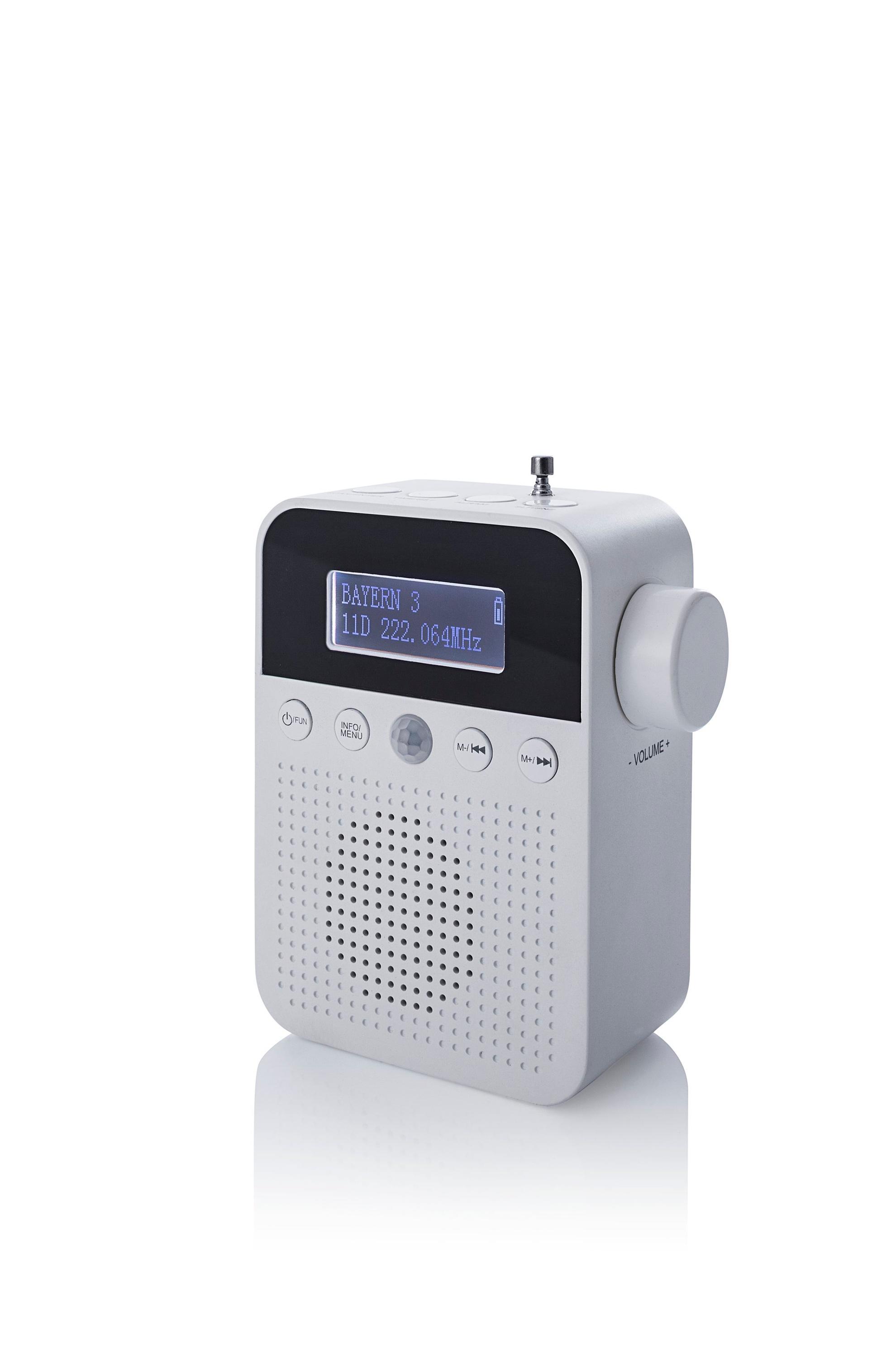 DAB+ Steckdosenradio mit Bewegungsmelder