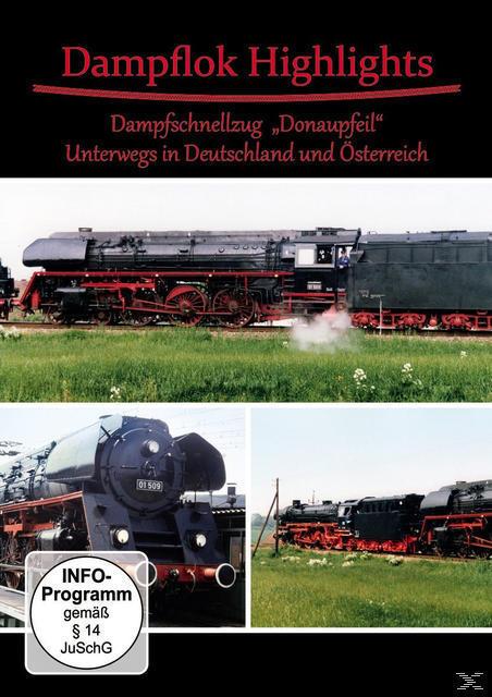 Image of Dampflok Highlights - Dampfschnellzug Donaupfeil