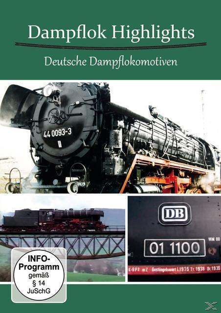 Image of Dampflok Highlights - Deutsche Dampflokomotiven