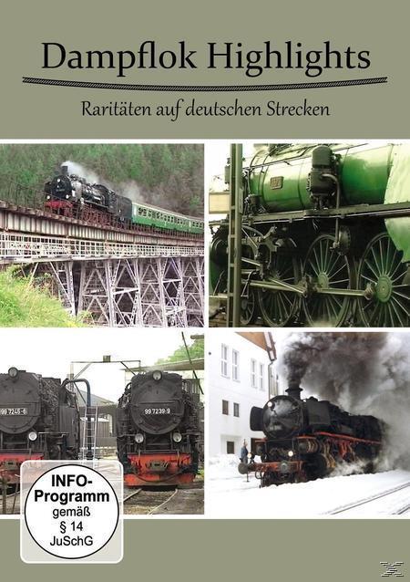 Image of Dampflok Highlights-Raritäten auf Deutschen Strecken