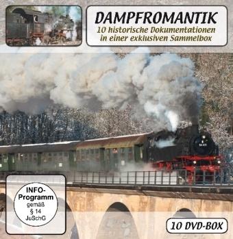 Image of Dampfromantik, 10 DVDs