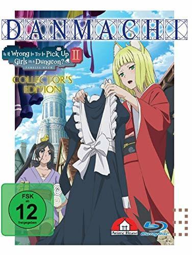 Image of DanMachi Is It Wrong to Try to Pick Up Girls in a Dungeon? - 2. Staffel - Vol. 3 Limited Collector's Edition
