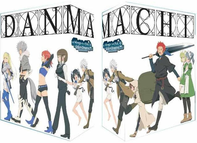 Image of DanMachi – Is It Wrong to Try to Pick Up Girls in a Dungeon? - 1. Staffel - Gesamtausgabe