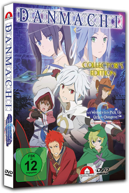 Image of Danmachi The Movie: Arrow of Orion Collector's Edition
