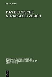 Das belgische Strafgesetzbuch - eBook