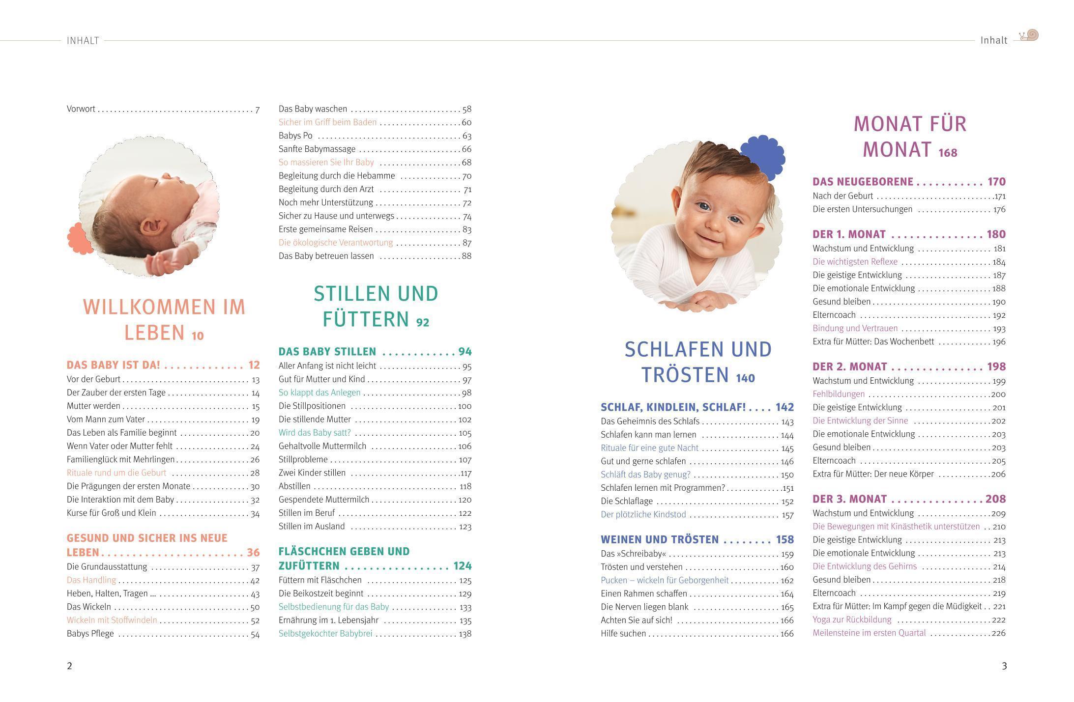 Das große Buch für Babys erstes Jahr Buch versandkostenfrei