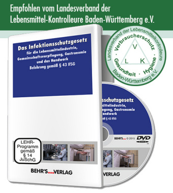 Image of Das Infektionsschutzgesetz für die Lebensmittelindustrie, Gemeinschaftsverpflegung, Gastronomie und das Handwerk