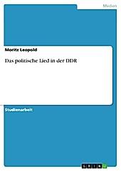 Das politische Lied in der DDR - eBook - Maximilian Lörzer,