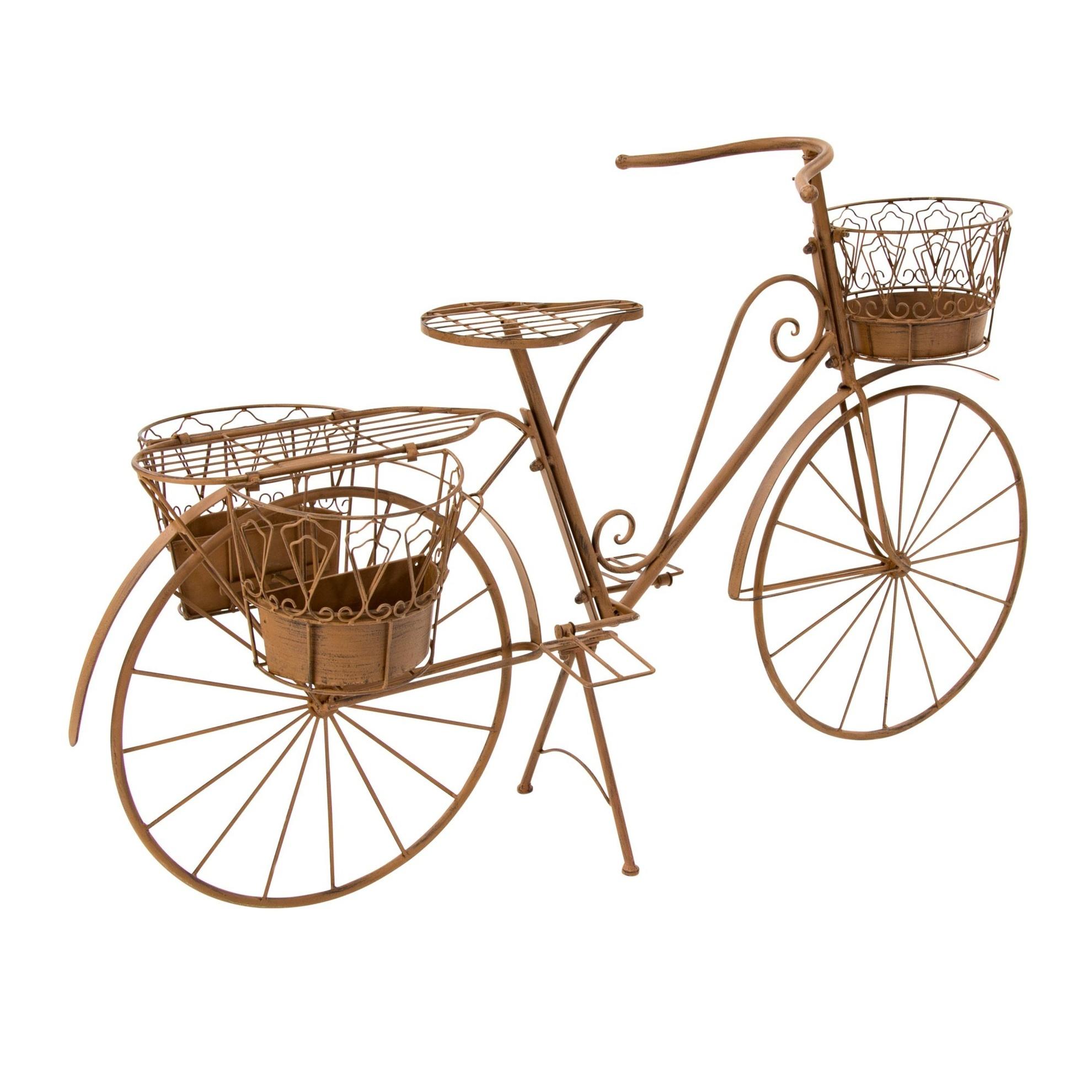 Deko-Fahrrad mit Pflanzhalter Rusty Modell