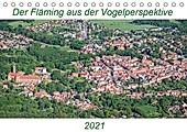 Der Fläming aus der Vogelperspektive (Tischkalender 2021 DIN A5 quer) - Kalender - Mario Hagen,