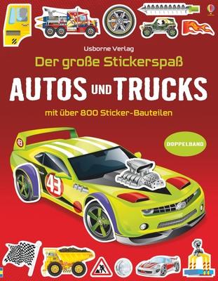 Der große Stickerspaß: Autos und Trucks - Simon Tudhope,