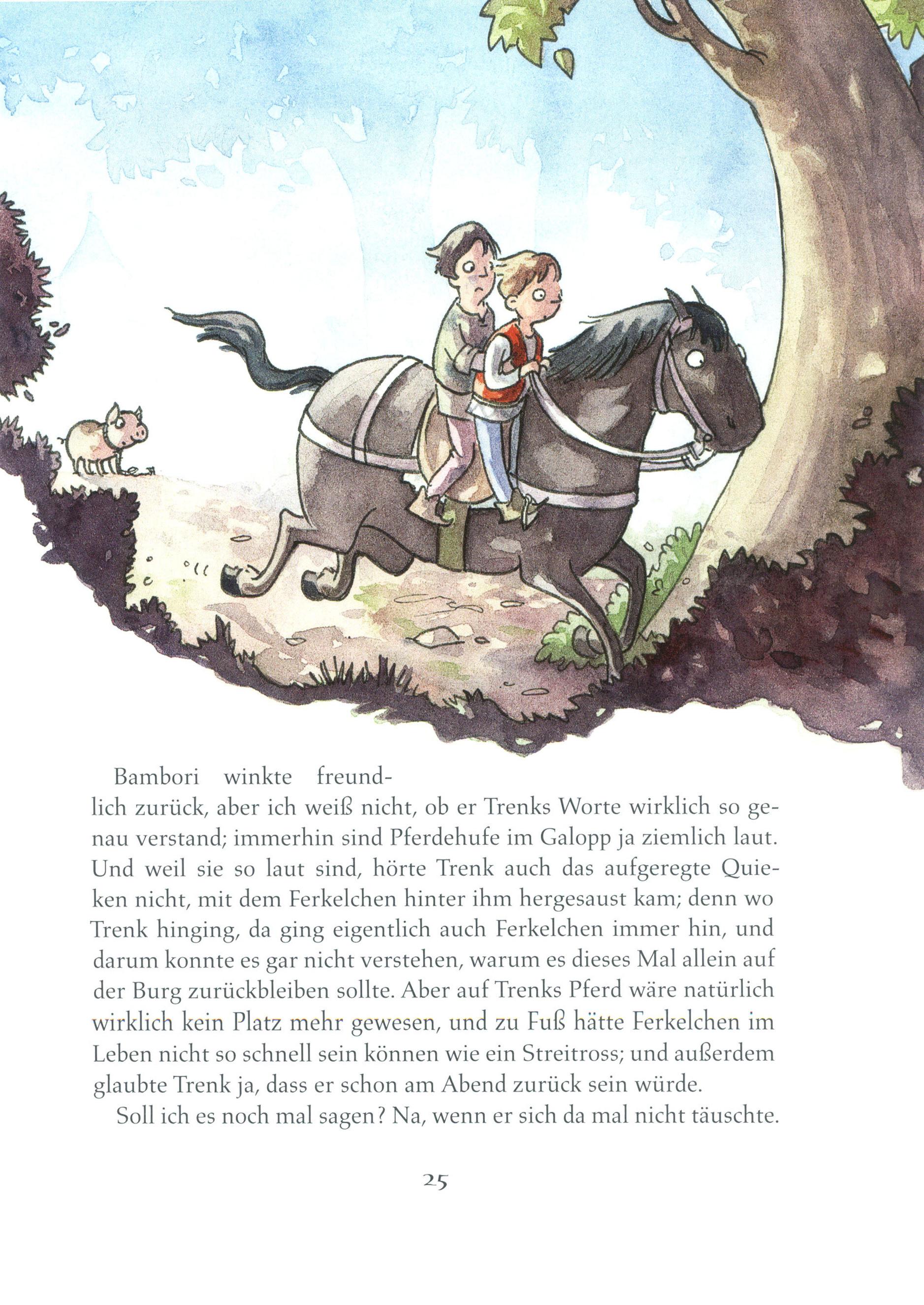 Der Kleine Ritter Trenk Band 4 Der Kleine Ritter Trenk Und Fast Das Ganze Leben Im Mittelalter Weltbild At