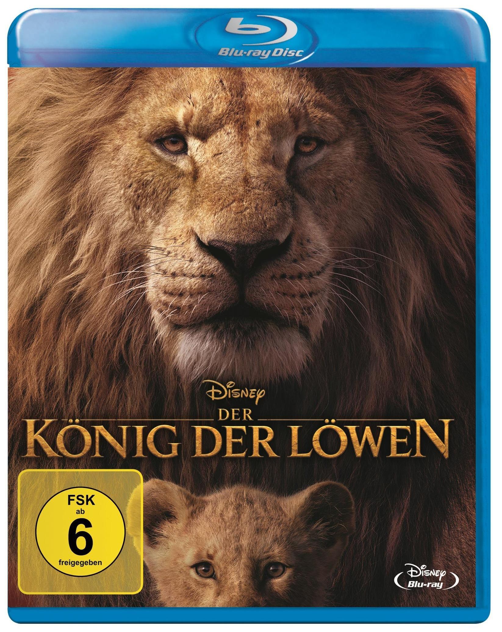 Der König der Löwen 2019 Blu-ray bei Weltbild.de kaufen