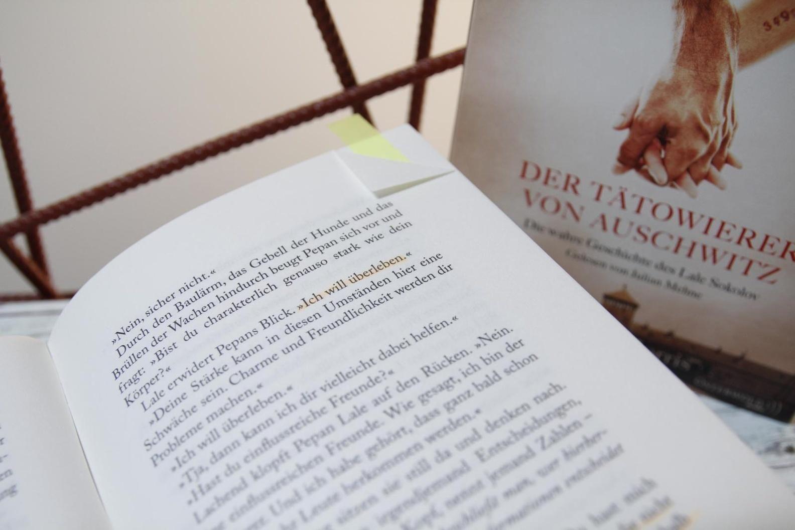 Der Tatowierer Von Auschwitz Buch Versandkostenfrei Bei Weltbild De